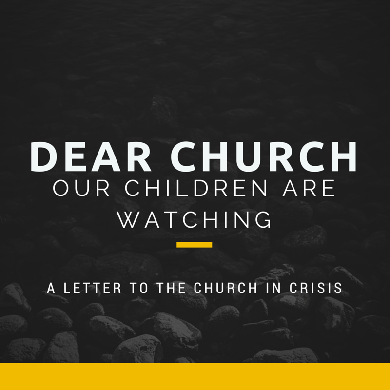 To the Church in crisis